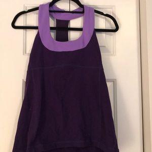 lululemon athletica Tops - Lululemon Scoop Neck Tank Purple